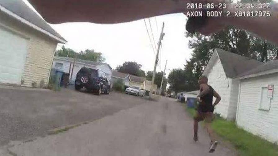 Minneapolis police released body camera footage showing the fatal police shooting of an armed man during a frantic foot pursuit.