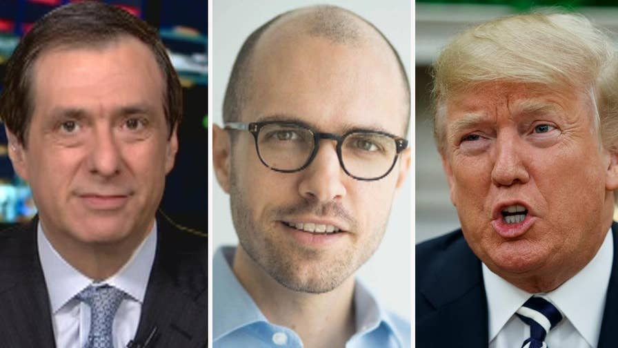 'MediaBuzz' host Howard Kurtz weighs in on the Twitter feud between President Trump and The New York Times publisher A.G. Sulzberger.