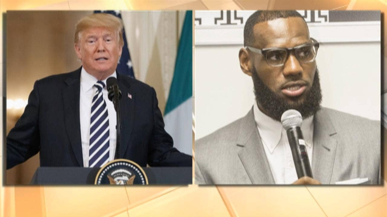 e5a7acb98599 Trump tweet slams LeBron James