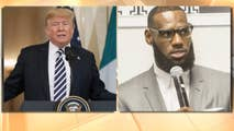 Why Lebron James is accusing President Donald Trump of dividing people across the United States.