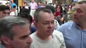 Sen. Thom Tillis speaks out on efforts to return U.S. pastor detained in Turkey.
