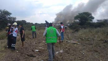 Jonathan Hunt reports on the Mexico plane crash.
