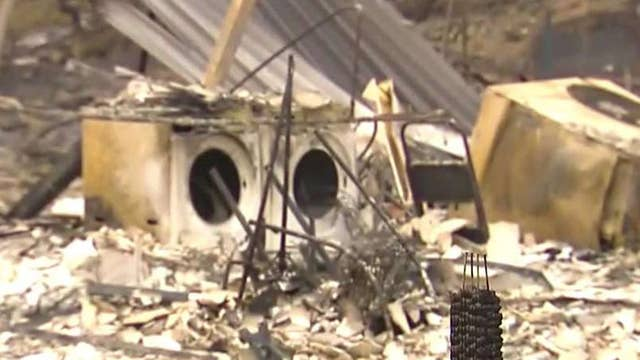 Carr Fire evacuees returning to destroyed homes