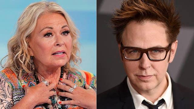 Stars support liberal James Gunn, but slam Roseanne Barr