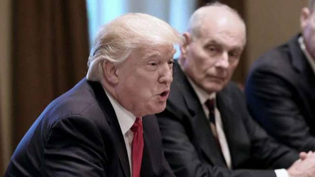 Kelly accepts Trump's offer to stay on through 2020