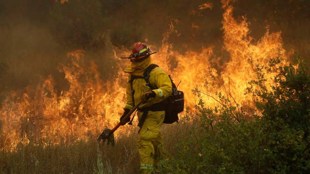 California fires continue to scorch acres, level homes
