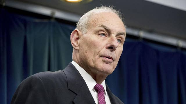 Chief of staff Kelly is in it for the long haul