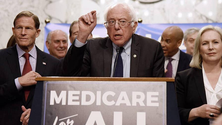 'Medicare for All' plan pushed by Sen. Bernie Sanders would increase government health care spending by $32.6 trillion over 10 years, according to a new study.