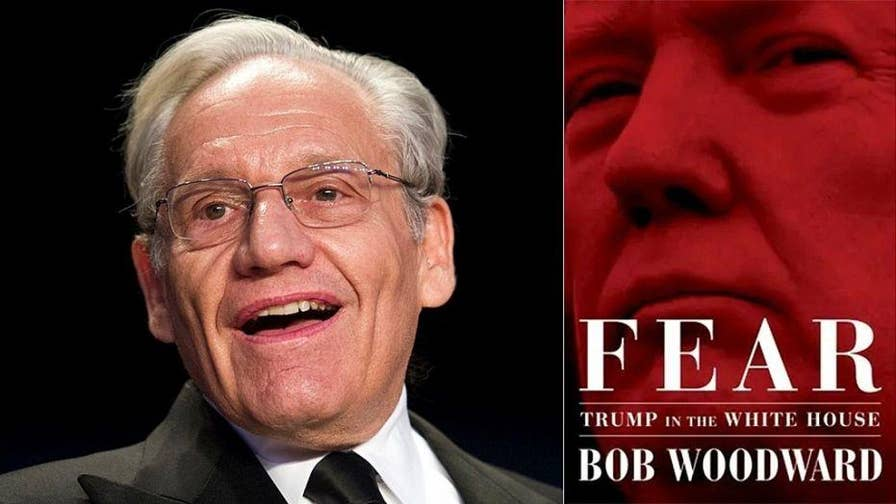 Legendary reporter Bob Woodward has authored a new book about the Trump presidency called 'Fear'. It comes after 19 months of under-the-radar reporting and late-night interviews.