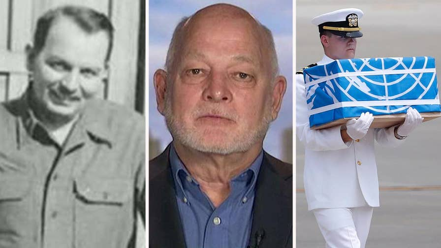 Son of missing U.S. Air Force captain reacts to North Korea releasing the possible remains of 55 U.S. service members.