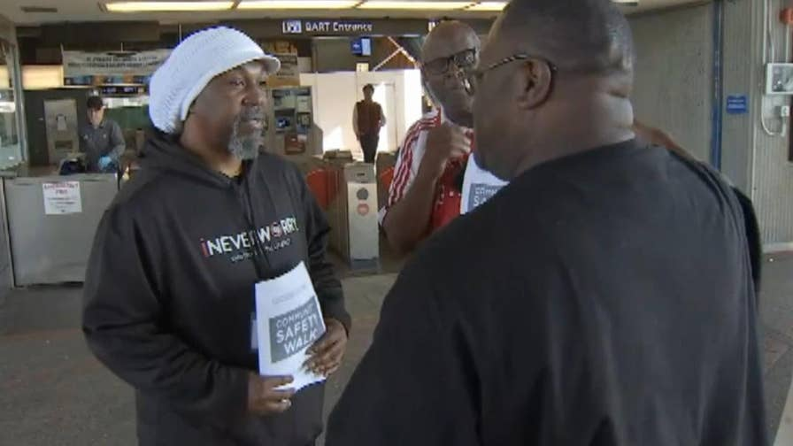 Group of Bay Area men take time out of their schedules to walk BART passengers to their cars in effort to make them feel safe after the recent brutal killing of Nia Wilson and two other deadly attacks.