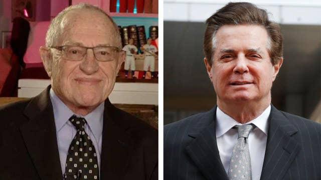 Dershowitz: Manafort's 'crime' is associating with Trump