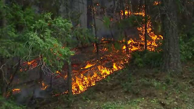 Deadly northern California fire 35 percent contained