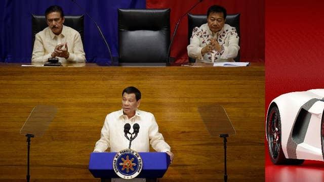Philippine Government destroys $5.5 million worth of luxury cars