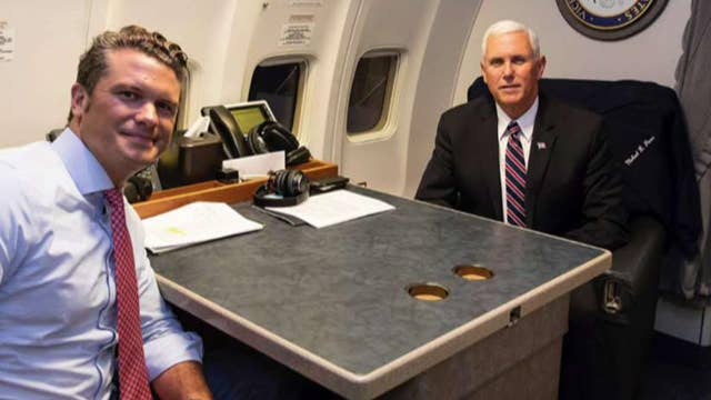 Pete Hegseth on guests Pence brought to Hawaii ceremony