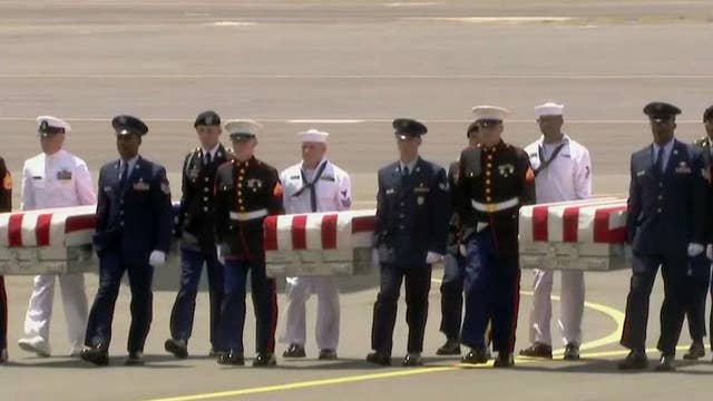 Presumed U.S. Korean War remains return to American soil