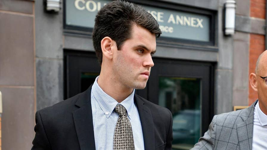 House arrest, two years probation and no jail time for former Penn State fraternity member who plead guilty for his role in the hazing death of Tim Piazza.