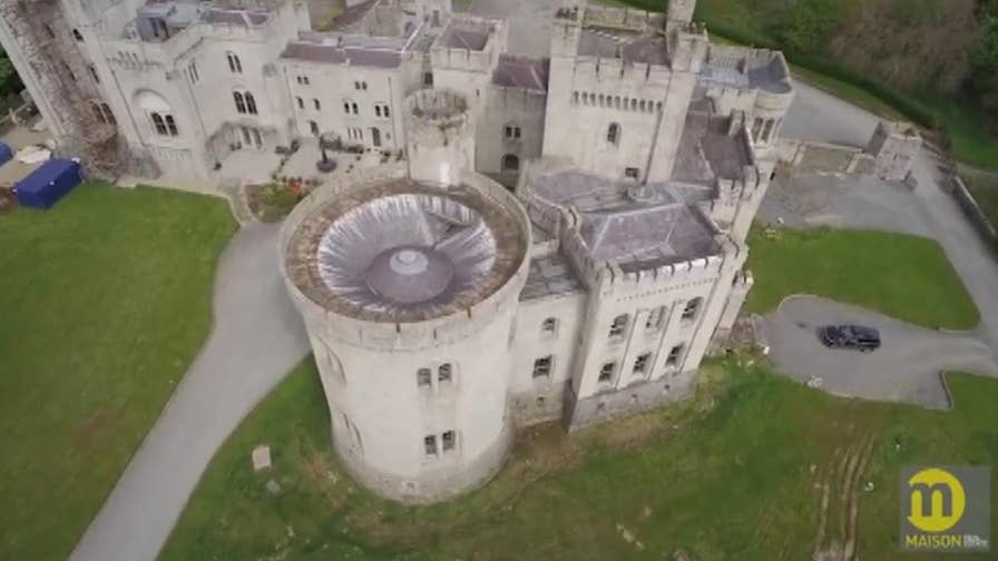 Hollywood Nation: Castle that served as Riverrun in 'Game of Thrones' now for sale in Northern Ireland; Kim Kardashian criticized for promoting 'appetite suppressant' lollipop on social media.