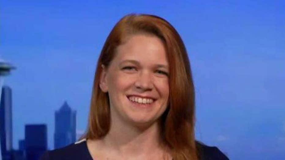 Sarah Smith aims to be the next Alexandria Ocasio-Cortez