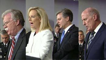 The administration insists the agencies are united in combating any effort to sway votes, reassuring Americans that any foreign activities have been limited to influence campaigns and not hacking voter systems. John Roberts reports from the White House for 'Special Report.'