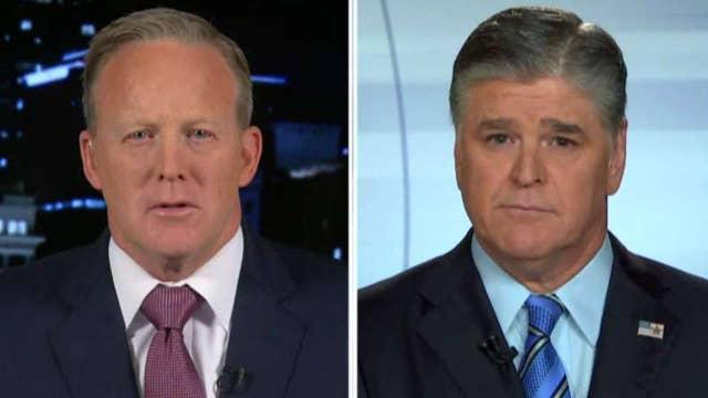 Sean Spicer: CNN's Jim Acosta owes Trump an apology