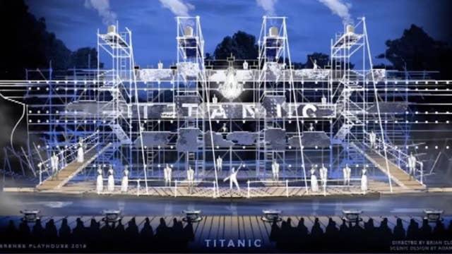 'Titanic' musical literally sinks the ship