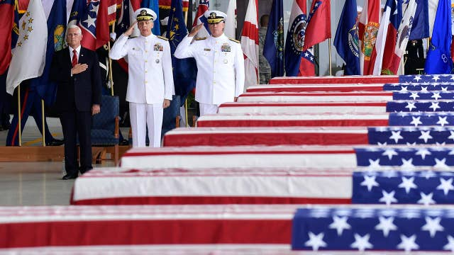 Pence: Return of remains shows 'tangible' progress with NoKo