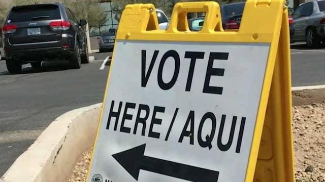 Republicans locked in heated Senate primary in Arizona