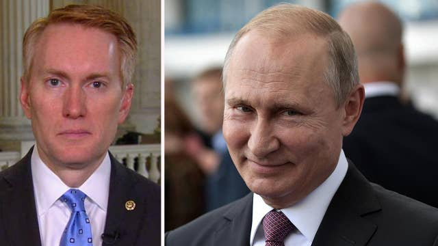 Sen. Lankford: Ongoing fighting over Russia benefits Putin