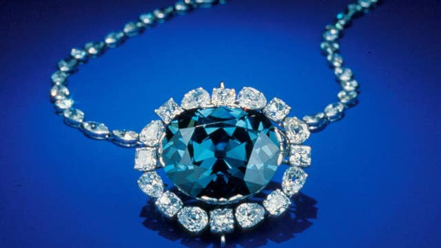 Blue diamonds form hundreds of miles below earth's surface