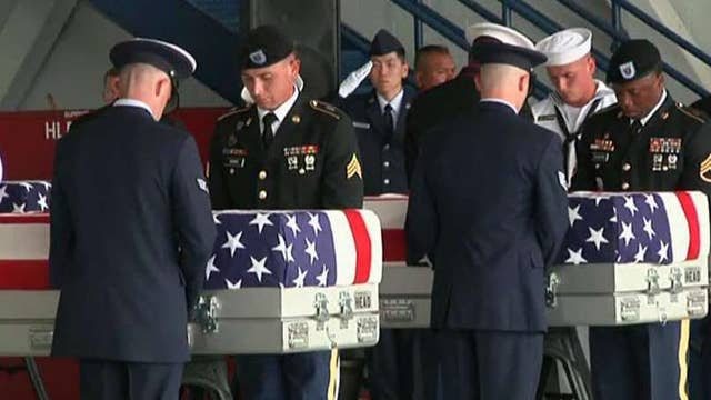 Officials release details about remains returned by NKorea