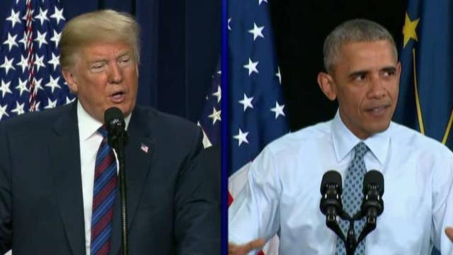 Trump, Obama to face off on the campaign trail this fall