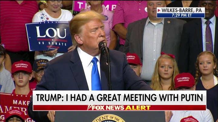 Trump, Barletta Rip Bob Casey at Wilkes-Barre Rally