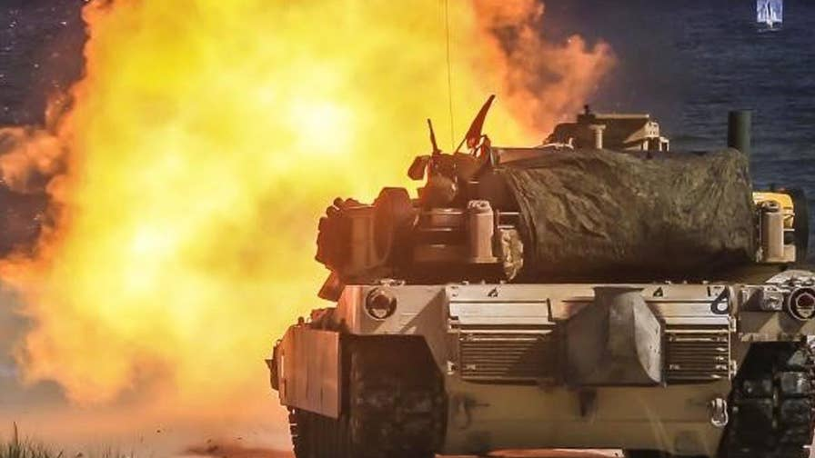 Defense Specialist Allison Barrie has the inside scoop on astonishingly futuristic new technology that creates a seemingly invisible, impenetrable, protective bubble around military armored vehicles.