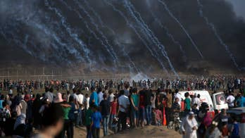 As many as 25 protesters have been wounded along the Israel-Gaza border amid reports of a possible truce with Hamas. David Lee Miller reports.