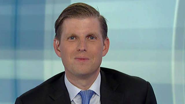 Eric Trump: Hypocrisy of the media is really incredible