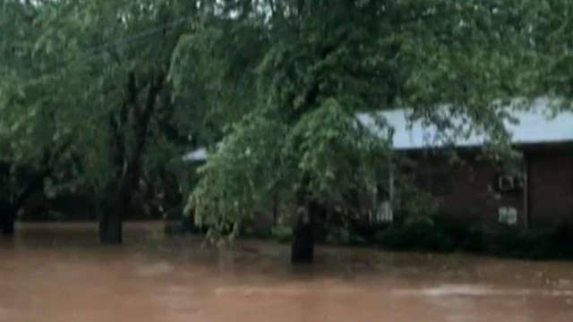 Evacuations underway after flooding in Virginia