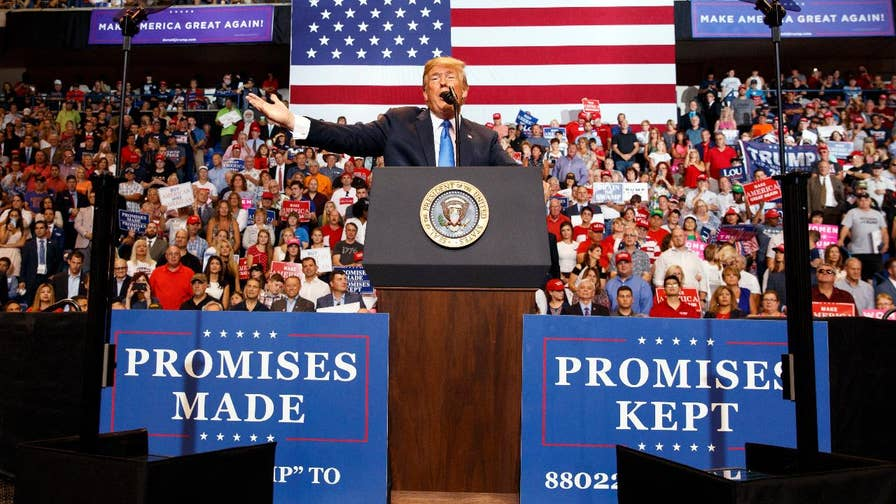President Trump says the United States will be taking some 'very tough actions' against MS-13 while speaking at Pennsylvania rally.