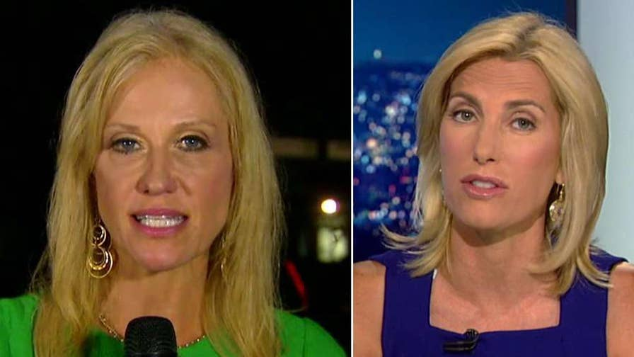 Kellyanne Conway discusses the Trump White House's relationship with the press on 'The Ingraham Angle.'