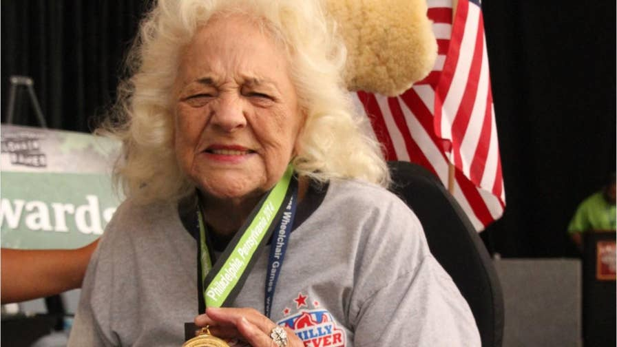 94-year-old Vet Dorris Merrill is competing in the National Veterans Wheelchair Games.  She and over 600 disabled athletes will be facing off in 19 events over six days.