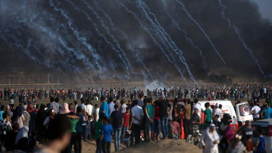 Protests along Israel-Gaza border intensify