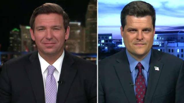DeSantis and Gaetz on impact of Trump's economic policies