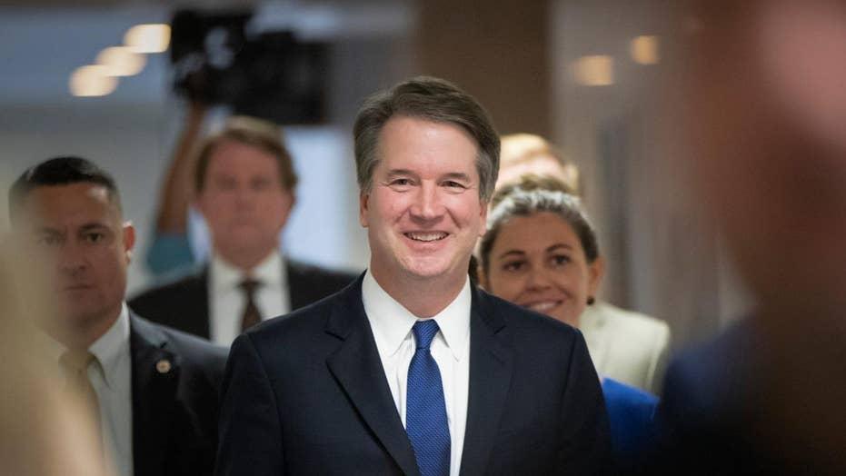 Senate Democratic leaders agree to meet with Kavanaugh