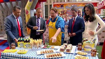 'Man V. Food' host Casey Webb shares tips on how to bring the fair home.