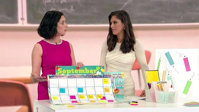 How to stay organized during back-to-school week