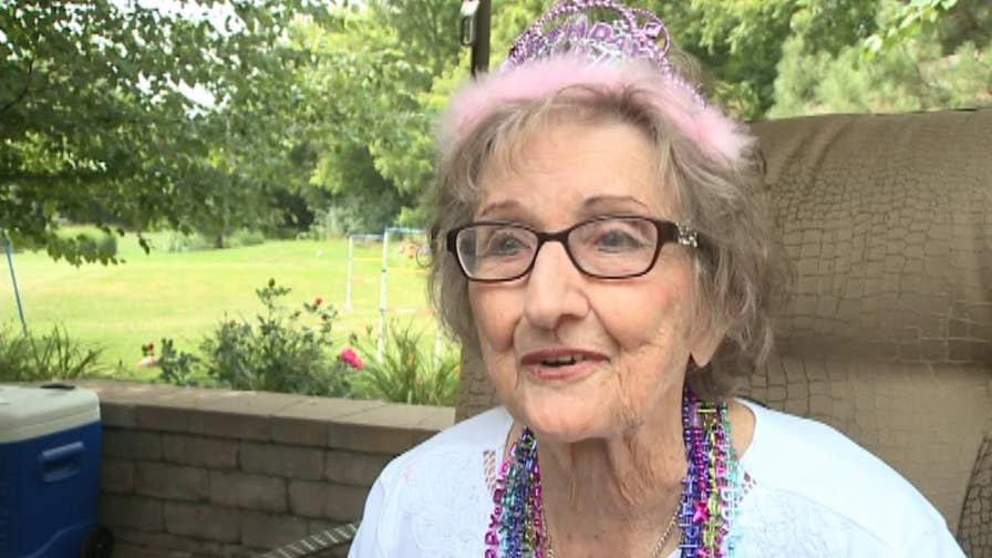 MillerCoors helps Milwaukee woman celebrated her centennial by sending her beer and gifts.
