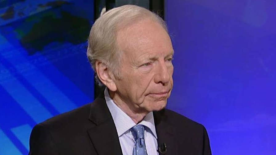 Former Connecticut senator and chairman of United Against Nuclear Iran praises President Trump for pulling the U.S. out of the Iran nuclear deal, hopes the re-imposition of sanctions will force Tehran back to the negotiating table.
