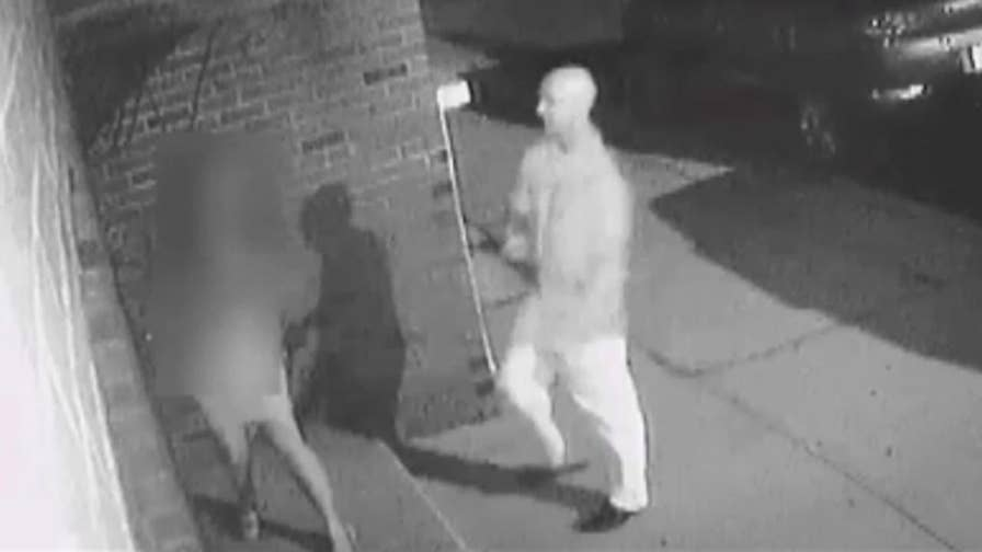 NYPD arrest suspect after the incident was caught on surveillance video.