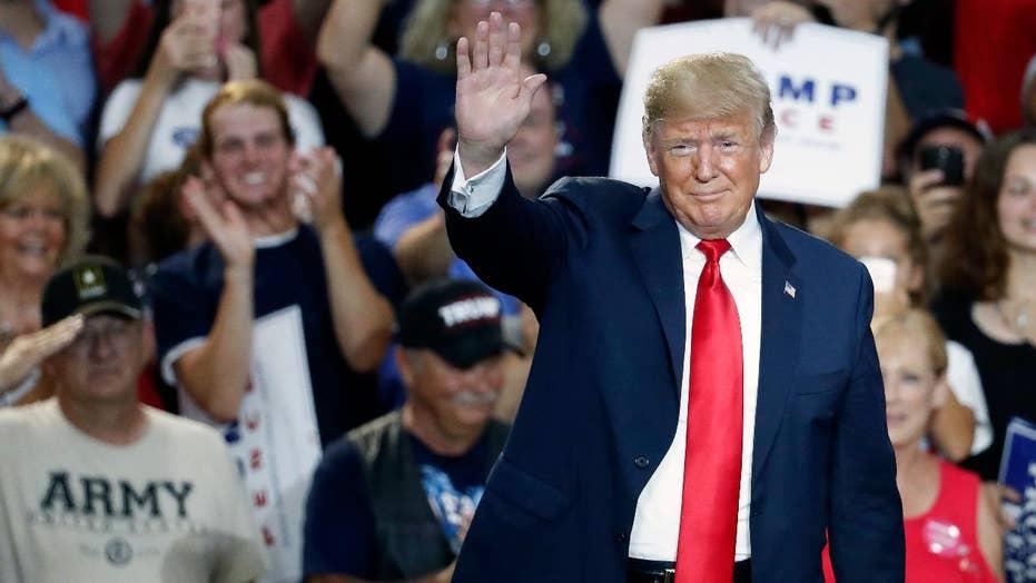 Trump Campaigns For Troy Balderson In Ohio Says Rival Is A Pelosi