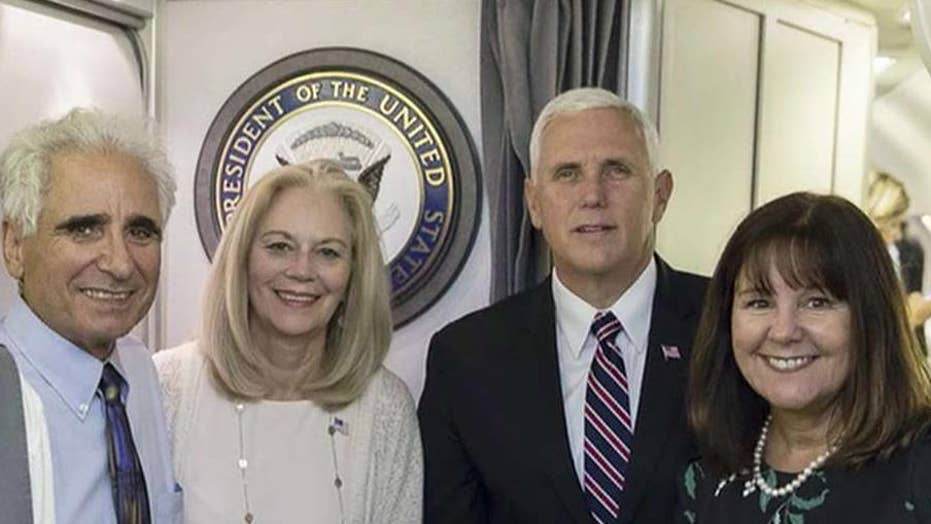 Woman talks attending Hawaii ceremony as Pence's guest